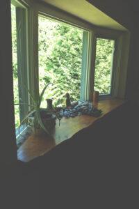Eaglenest Sanctuary dining area windows