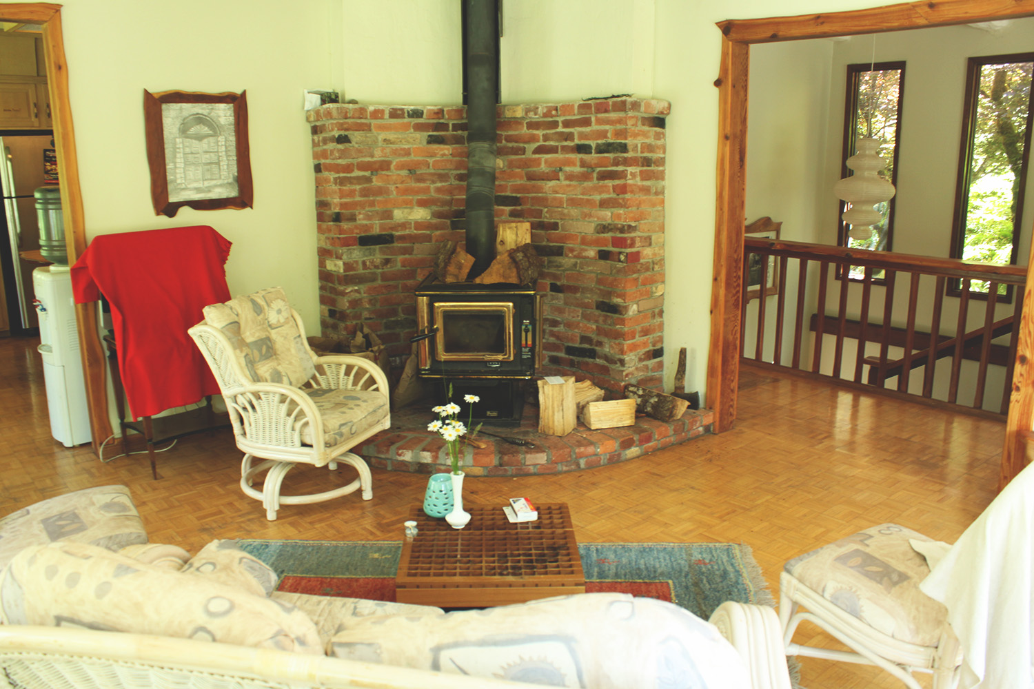 View of Eaglenest Sanctuary living area